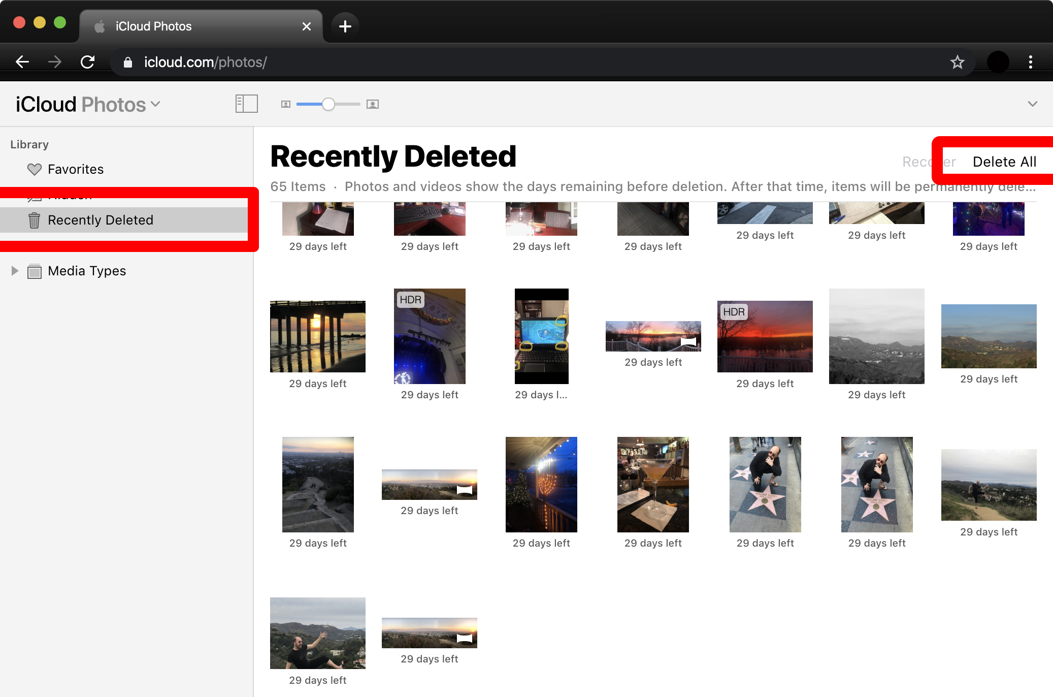 How to Delete Photos from iCloud iphone