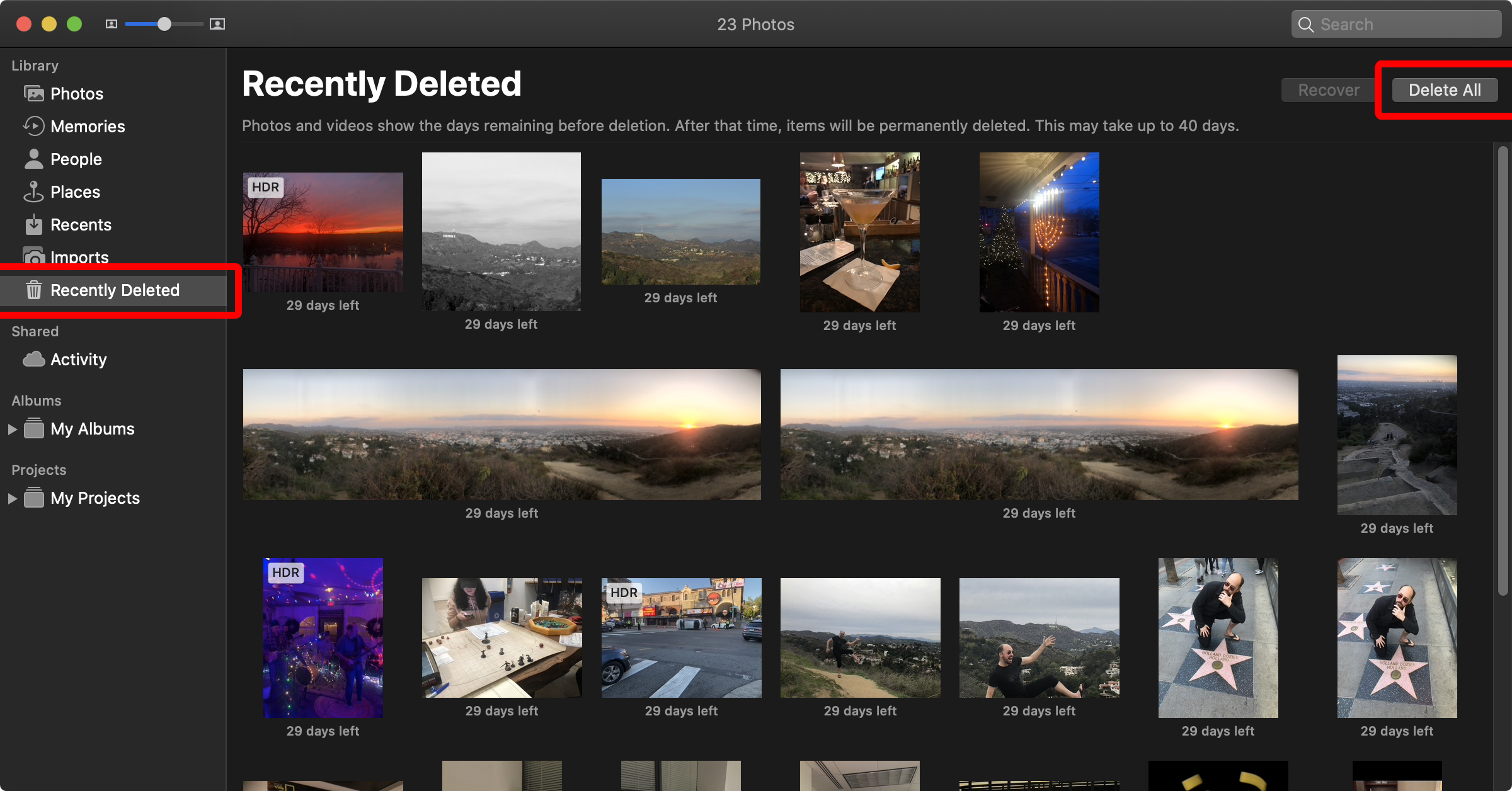 How to Delete Photos from iCloud photos app